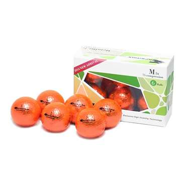 Proactive Golf Chromax M1X Golf Balls 6 pack -Orange