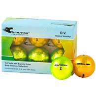 Proactive Golf Chromax O.V. Ball 6 pack