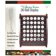 Proactive Golf 36 Ball Rosewood Display