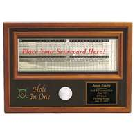 Proactive Golf Hole In One Ball & Scorecard Display