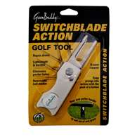 Proactive GolfGreenbuddy Switch-Blade Divot Tool White Blister