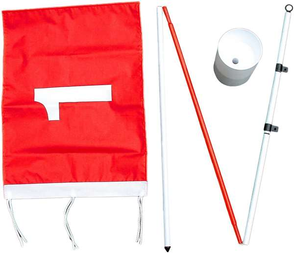 Proactive Golf Backyard Flagstick Pole & Cup
