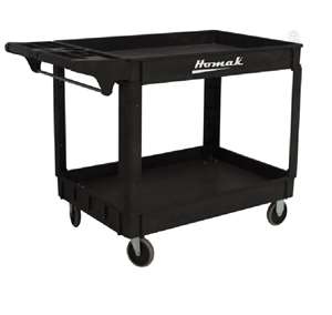 Homak 30 X 16 inches IND PP Service Cart