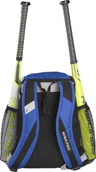 Rawlings Youth Player's Baseball Backpack Royal Blue