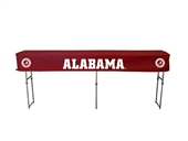 University of Alabama Folding Buffet Tailgate Table