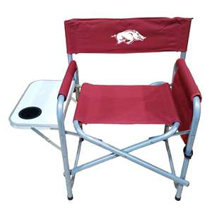 University of Arkansas Razorbacks Directors Chair - Tailgate Camping