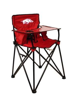 University of Arkansas Razorbacks High Chair - Tailgate Camping