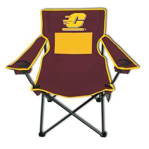 Central Michigan University Monster Mesh Chair - Tailgate Camping