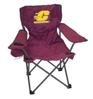 Central Michigan Junior Chair  Folding Tailgate Camp Chair