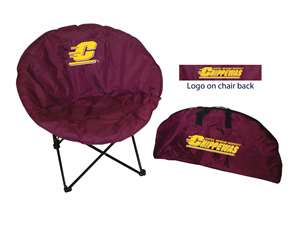 Central Michigan University Round Chair - Tailgate Camping Dorm