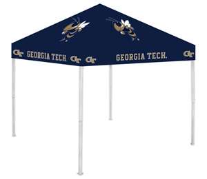 Georgia Tech Yellow Jackets 9X9 Canopy Tent Shelter