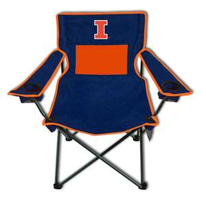University of Illinois Fighting Illini Monster Mesh Chair - Tailgate Camping