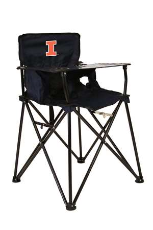 University of Illinois Fighting Illini High Chair - Tailgate Camping