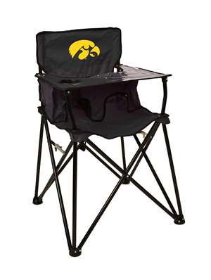 University of Iowa Hawkeyes High Chair - Tailgate Camping