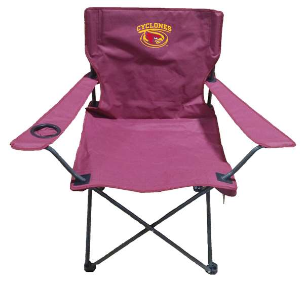 Iowa State University Folding Adult Tailgate Sports Chair - NCAA