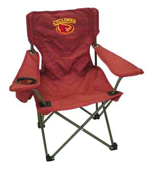 Iowa State Junior Chair  Folding Tailgate Camp Chair