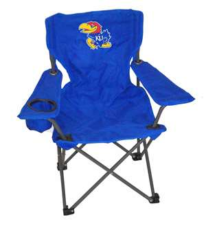 Kansas Junior Chair  Folding Tailgate Camp Chair