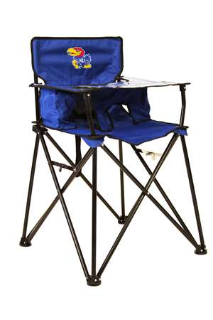 University of Kansas Jayhawks High Chair - Tailgate Camping