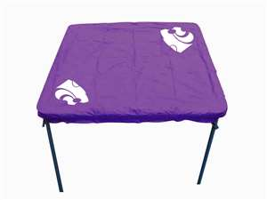 Kansas State University Wildcats Card Table Cover