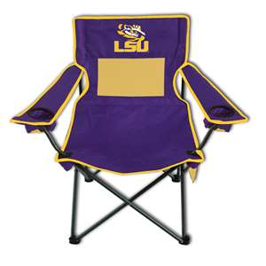 LSU Louisiana State University Tigers Monster Mesh Chair - Tailgate Camping