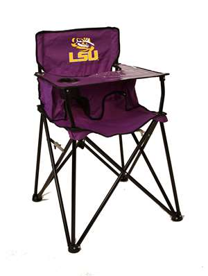 LSU Louisiana State University Tigers High Chair - Tailgate Camping