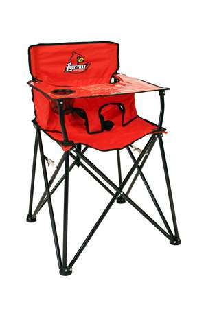 University of Lousiville Cardinals High Chair - Tailgate Camping