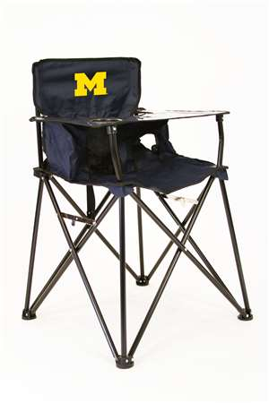 University of Michigan Wolverines High Chair - Tailgate Camping