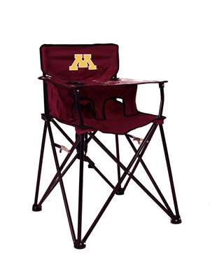 University of Minnesota Golden Gophers High Chair - Tailgate Camping