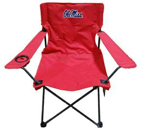 University of Mississippi Ole Miss Rebels Adult Chair -Tailgate Camping