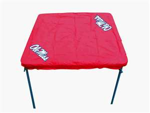 University of Mississippi Ole Miss Rebels Card Table Cover