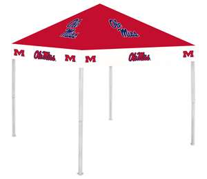 University of Mississippi Ole Miss Rebels 9X9 Canopy Tent Shelter