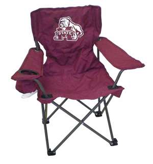 Mississippi State Junior ChairFolding Tailgate Camp Chair