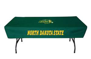 North Dakota State University 6 Ft Table Cloth Cover