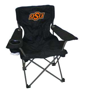 Oklahoma State Junior ChairFolding Tailgate Camp Chair