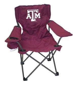 Texas A&M Junior ChairFolding Tailgate Camp Chair
