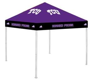 TCU Texas Christian University Horned Frogs Round Chair - Tailgate Camping Dorm