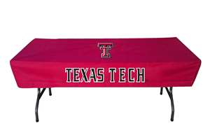 Texas Tech Red Raiders 6 Ft Table Cloth Cover