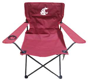 Washington State University Cougars Adult Chair -Tailgate Camping