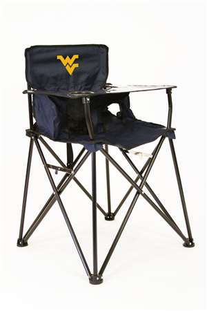 University of West Virginia Mountaineers High Chair - Tailgate Camping