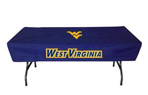 University of West Virginia Mountaineers 6 Ft Table Cloth Cover