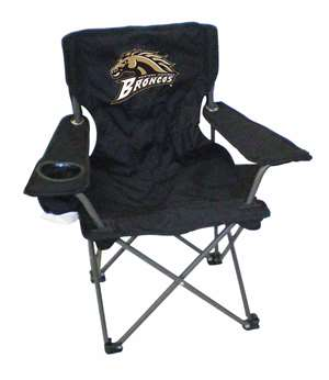 Western Michigan Junior ChairFolding Tailgate Camp Chair