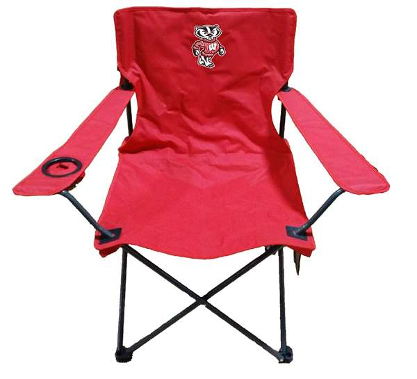 University of Wisconsin Badgers Adult Chair -Tailgate Camping