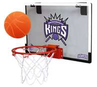 Sacramento Kings Indoor Mini Basketball Goal Hoop Set