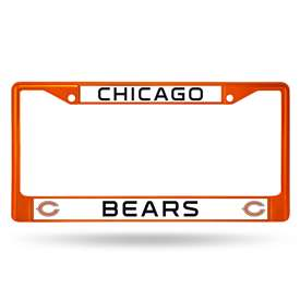 Chicago Bears COLORED CHROME FRAME SECONDARY ORANGE