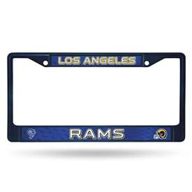 Los Angeles Rams RETRO NAVY COLORED CHROME FRAME