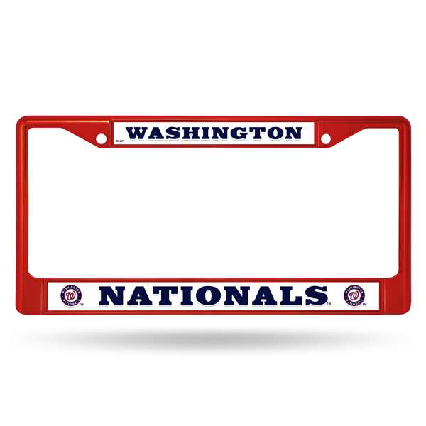 Washington Nationals COLORED CHROME FRAME SECONDARY RED