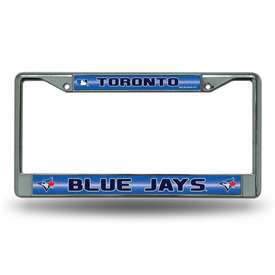 Toronto Blue Jays Rico Chrome License Plate Frame