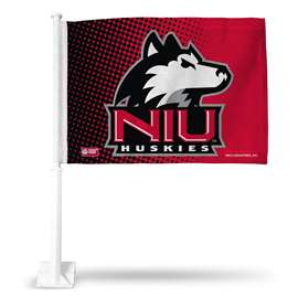 NORTHERN ILLINOIS CAR FLAG