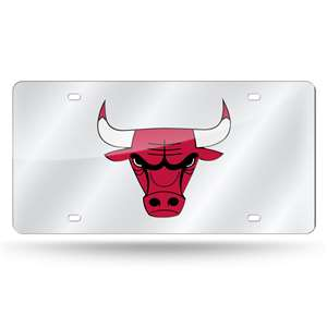 Chicago Bulls LASER TAG (SILVER)