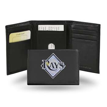"T.B. Tampa Bay Rays ""DIAMOND""  Embroidered Trifold"